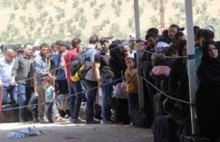 Bayram yaklaştı Suriyeliler yine gidiyor