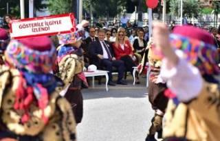 Bornova'da 100. yıl coşkusu