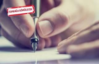Çiğli'de öğrencilerden geleceğe mektup