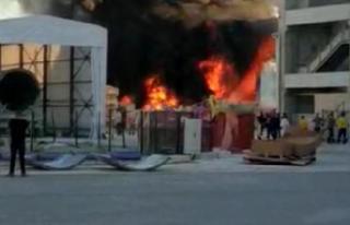 İzmir'de fabrika yangını korkuttu!
