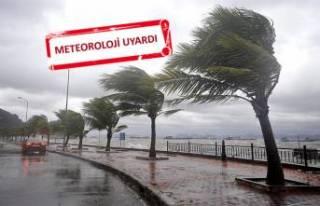 Meteoroloji'den fırtına uyarısı geldi!