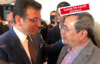 Başkan Batur, İmamoğlu'na destek için İstanbul'da