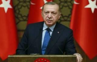 Cumhurbaşkanı Erdoğan'dan karne mesajı
