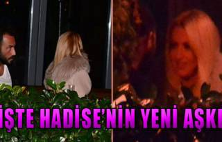 İşte Hadise'nin Yeni Aşkı!