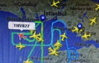 İstanbul Hava Trafiğinde Yoğunluk Yaşanıyor