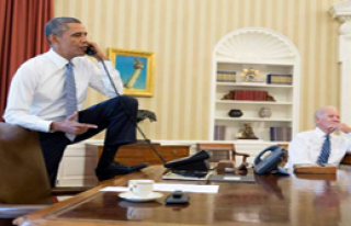 Obama'dan 'İşin Bitti Esad' Pozu