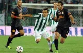 Bursaspor:1 - Galatasaray:1
