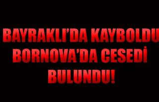 Bornova'da Cesedi Bulundu!