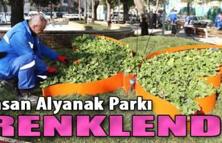 İhsan Alyanak Parkı Renklendi