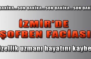 İzmir'de Şofben Faciası
