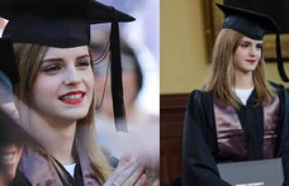 Emma Watson Mezun Oldu