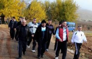 Şahinbey Protokolünden Sabah Yürüyüşü