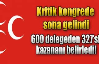 MHP'de Kritik Seçim Sonuçlandı