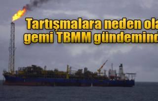 CHP'li Yüksel, Kuito İsimli Gemiyi Meclis'e Taşıdı