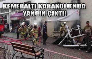 Kemeraltı'nda Korkutan Yangın!