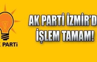 AK Parti İzmir İl Yürütme Kurulu Belirlendi!