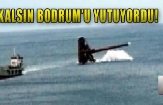 Bodrum'da Denizde Hortum