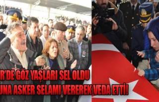 Şehit Özkaya Ebediyete Uğurlandı!