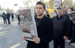 14 Aralık Operasyonlarını Protesto Ettiler