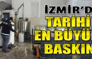 İzmir'de Tarihin En Büyük Sahte İçki Baskını!