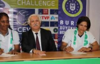 Bursa Belediyespor'a 2 Yabancıdan İmza