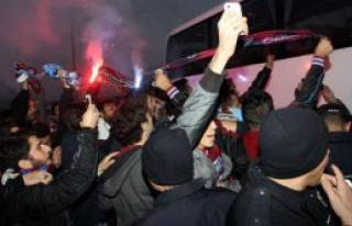 Trabzonspor Konya'ya Geldi
