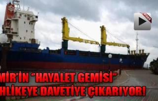 Hayalet Gemi Tehlike Saçıyor!