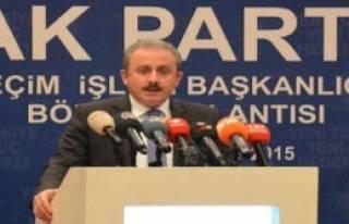Ak Partili Şentop: Kılıçdaroğlu, Vahşeti Mazur...