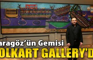 'Karagöz'ün Gemisi' Folkart Gallery'de