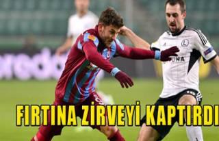 Legia Varşova 2-0 Trabzonspor