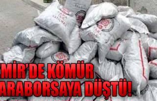 İzmir'de Kömür Karaborsaya Düştü!