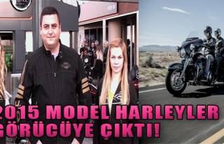 İşte 2015 Model  Harleyler