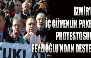 Avukatlardan İç Güvenlik Paketi Protestosu