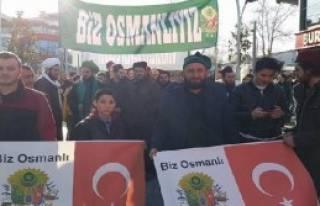 'Osmanlı'yı İstiyoruz' Yürüyüşü