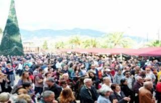 Alanya'da Noel Pazarı Kuruldu