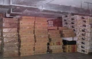 Amasya'da Kaçak Sigara Operasyonu