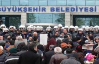 Ankara'da Kalkanlı Müdahale!