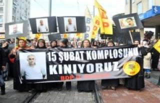 Antalya'da 'Öcalan' Eylemi