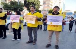 Öğretmenler Antalya'da da Yürüdü