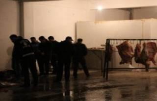 250 Kilo Kaçak Kesilmiş Et Ele Geçirildi