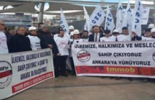 Aydın'da Torba Yasa Protestosu