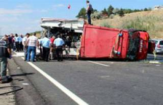 Başkent'te İtfayeciler Kaza Kurbanı