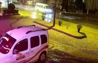 Bartın'da Minibüs Yayaya Çarptı!
