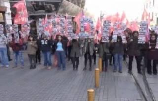 Beyoğlu'nda 'Başkaldırıyoruz' Yürüyüşü
