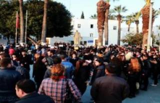 Bodrum'da Özgecan Protestosu