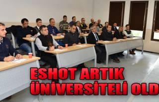 ESHOT Artık Üniversiteli Oldu