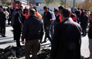 Bitlis'teki Göçükte 1 İşçi Yaralandı