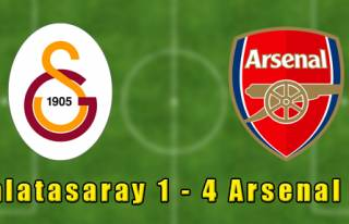Galatasaray 1-4 Arsenal