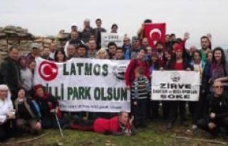 Latmos Milli Park Olsun