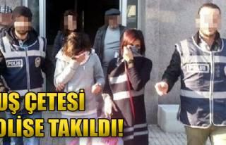 Duş Çetesi Polise Takıldı